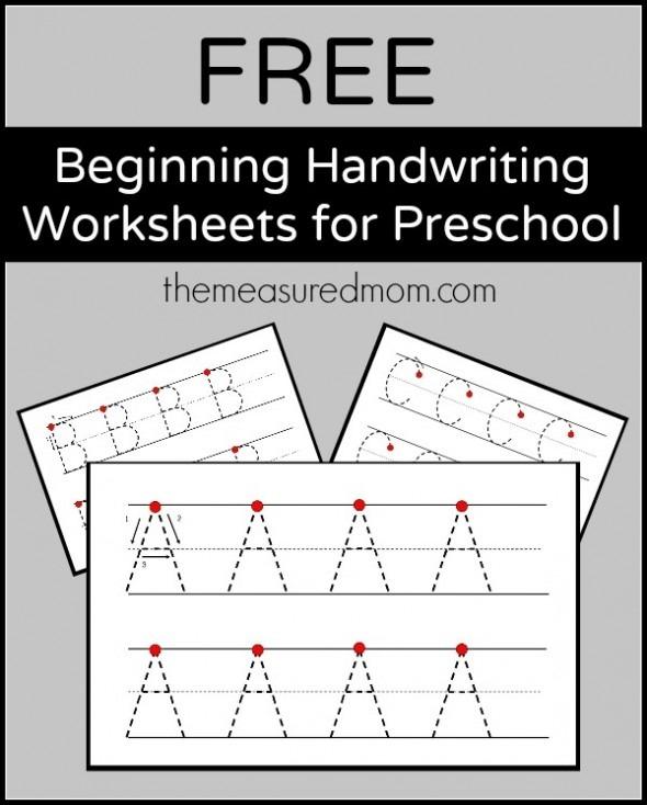 Level  Handwriting Worksheets