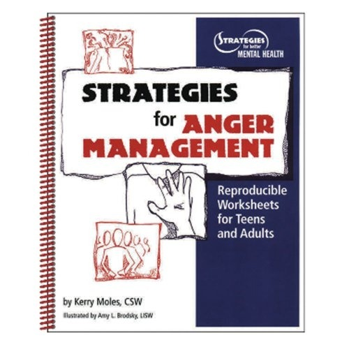 Strategies For Anger Management Reproducible