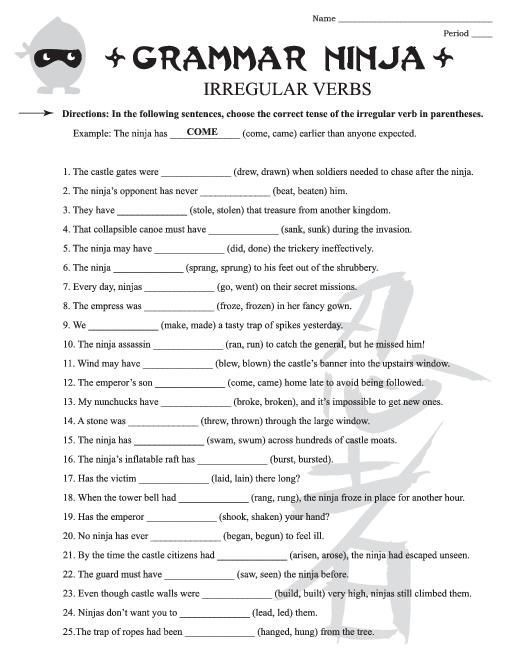 Th Grade English Worksheets Best Images Of Free Printable Th