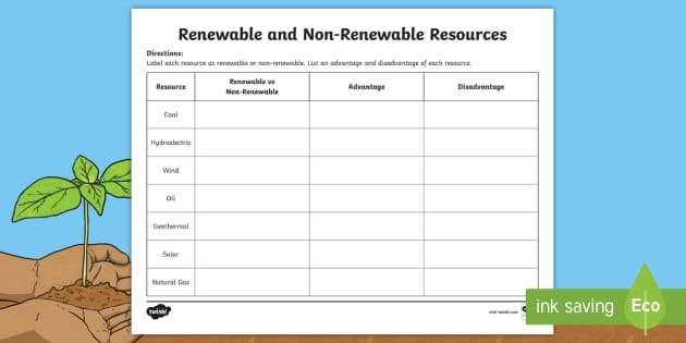 The Difference Between Renewable And Non