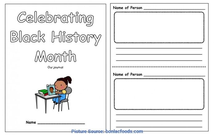 Top Preschool Lesson Plans Black History Month Worksheets For All