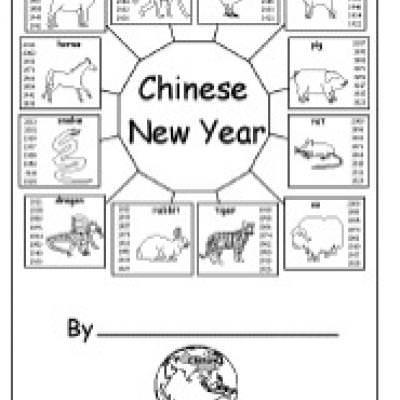 Chinese New Year Activityeets Printable Preschool Singapore