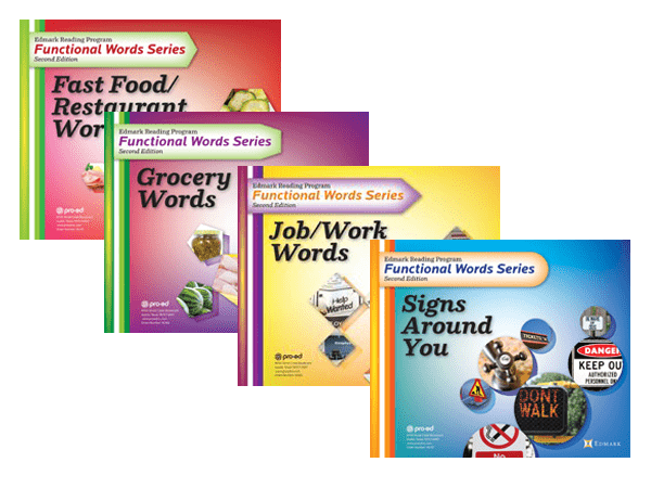 Edmark Functional Word Series Second Edition