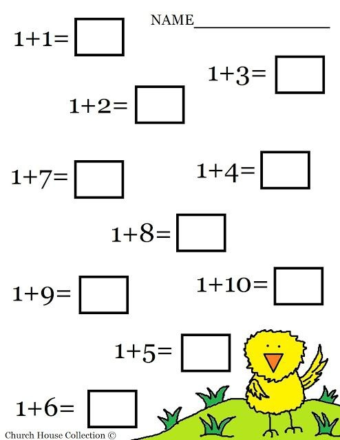 Free Printable Mathksheets For Kg Learning Grade  Jaimie Bleck