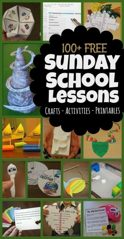 Free Sunday School Lessons For Kids
