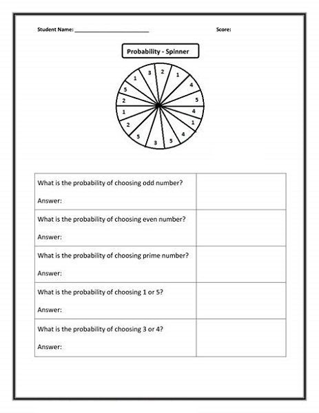 Fun Math Worksheets For Th Graders