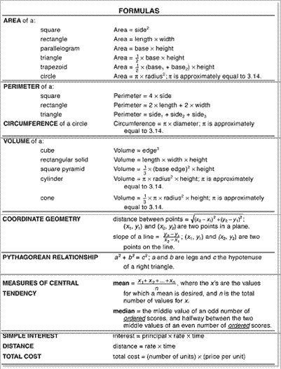 Ged Math Practice Worksheets Printables Social Studies Free