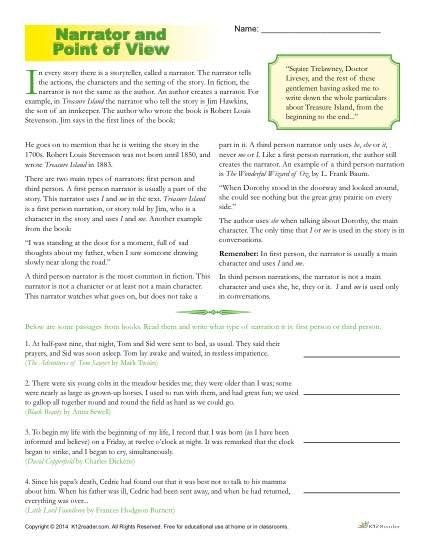 Grade  Math Point Of View Worksheets Th Grade Dilation Math