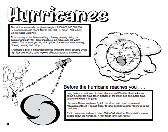 Heres A Booklet For Kids From The National Weather Service On