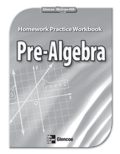 Homework Practice Workbook