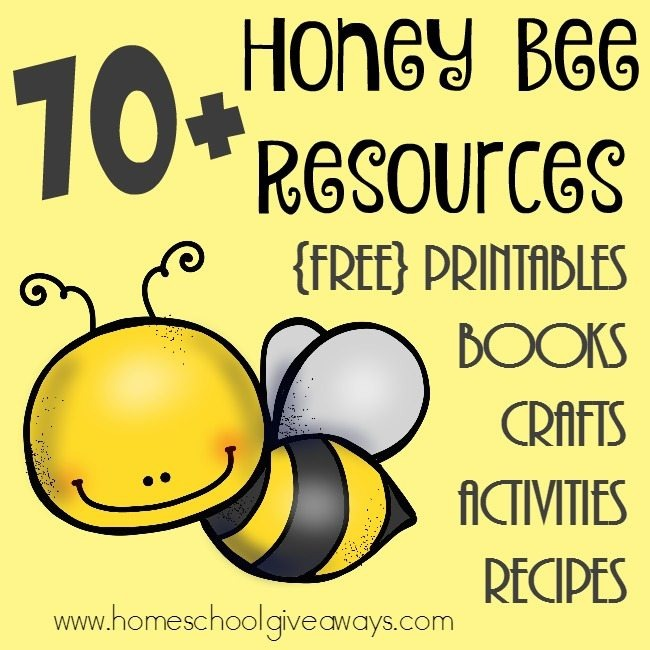 Honey Bee Resources Free Printables  Crafts   More