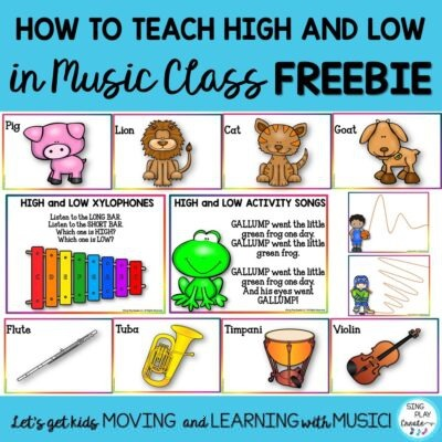 How To Teach High And Low In Music Class