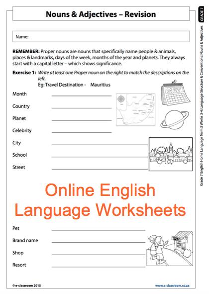 Marvelous English Revision Worksheets Grade Sentence Paragraph