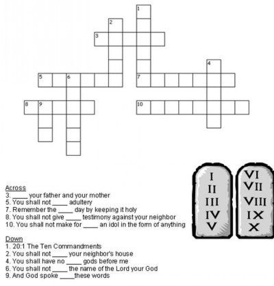 Pin By Kidsbiblebeat On Bible Crosswords For Kids