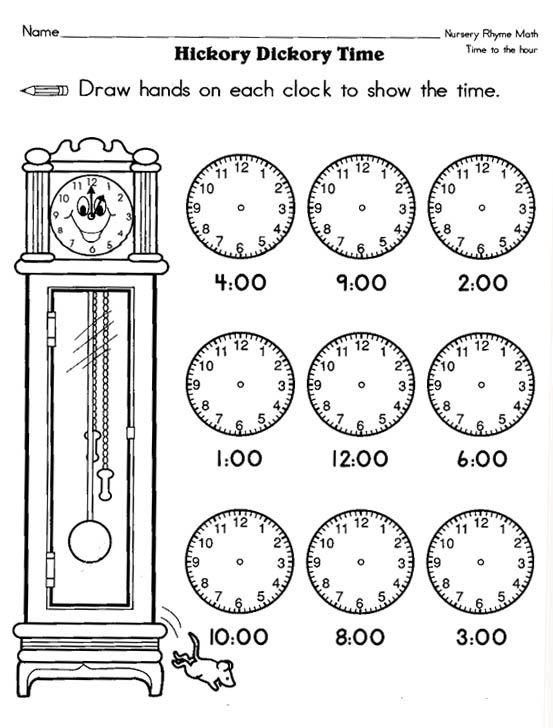 Pin By Lesley Spaeth On  Worksheet Telling Time