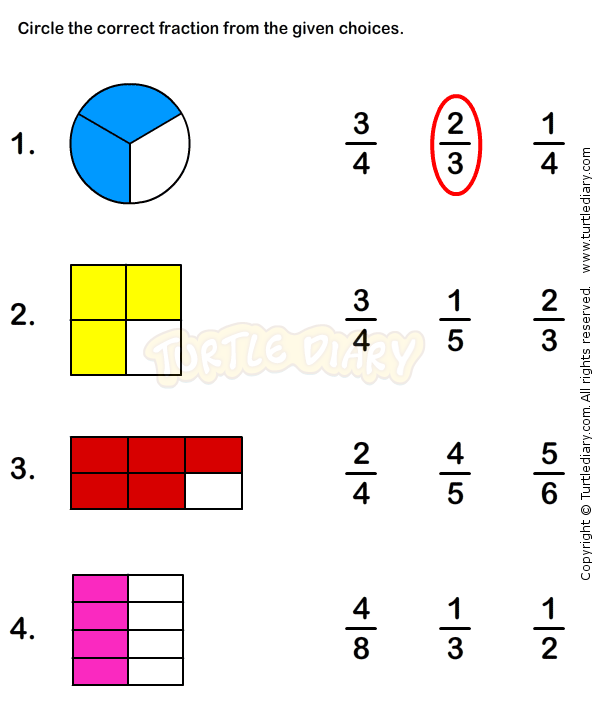 Pin By Natalie Doucet On Fractions Worksheets