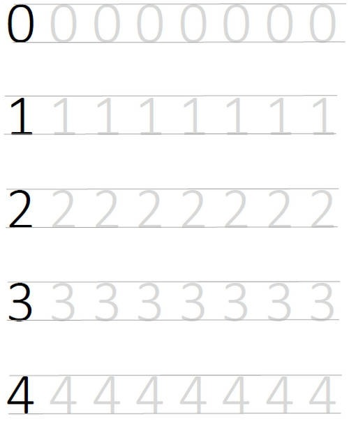 Pre Tracing Worksheets Kindergarten Number Christmas Tree Math