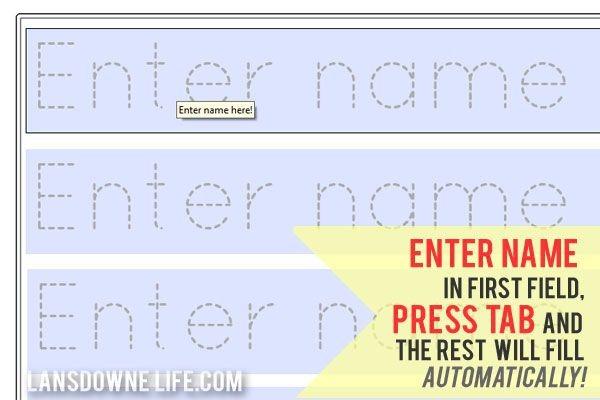 Preschool Name Tracing Worksheets Worksheets Division Paper Mr