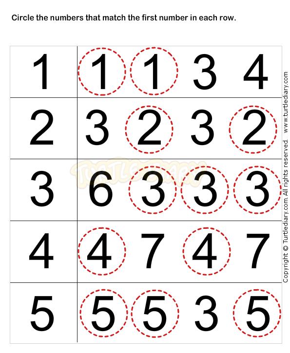 Printable Math Worksheets For Year Olds Toddler Girls Development