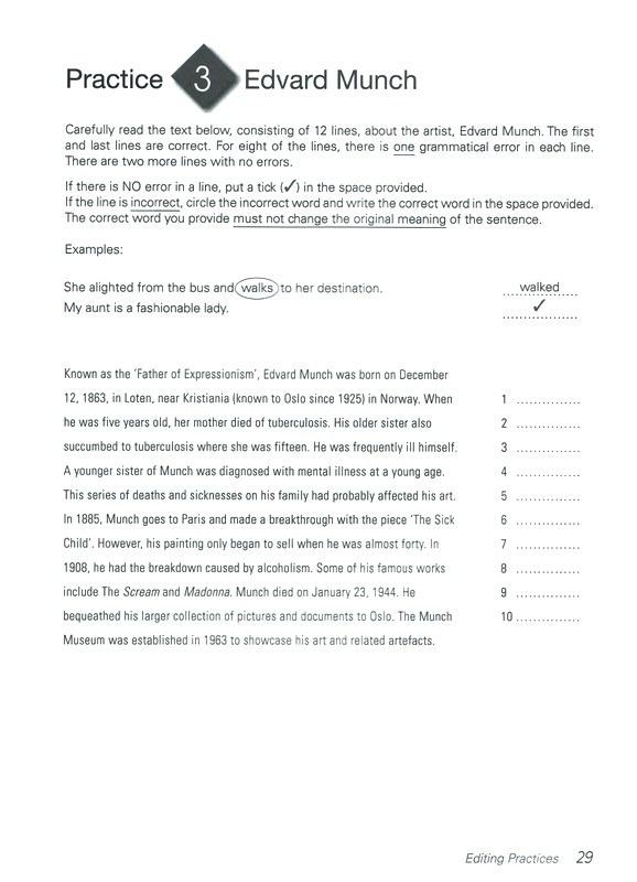 Proofreading Worksheets High School