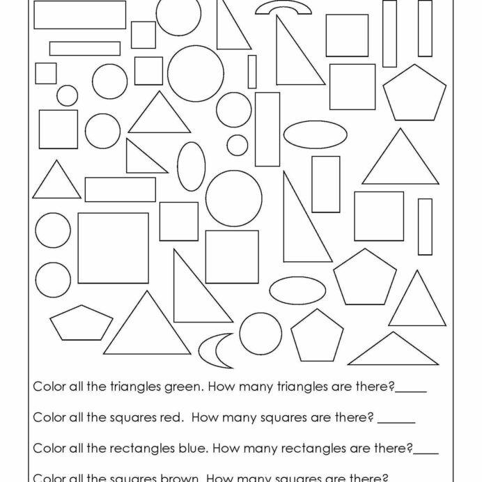 Rd Grade Shapes Worksheet In Geometry Worksheets Math Printable