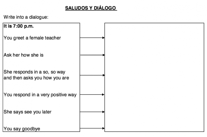 Spanish Greetings Worksheetentary Astonishing Worksheets Picture