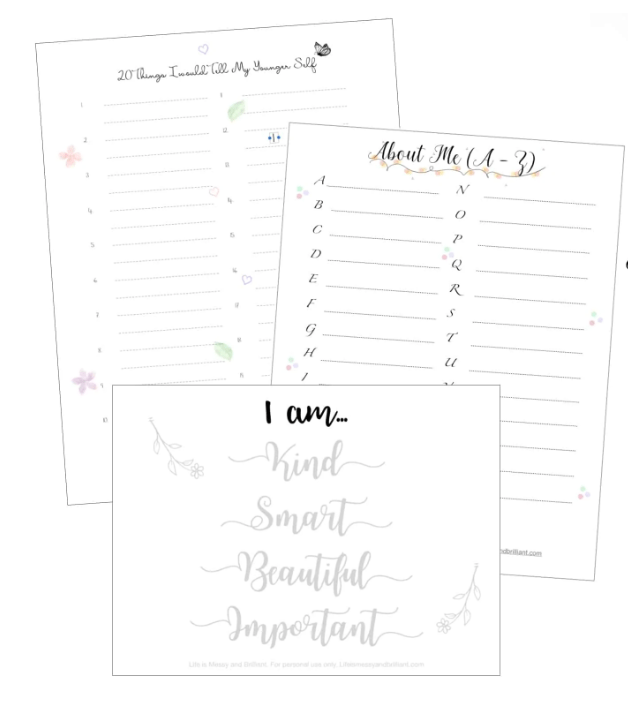 Top Self Care Pdf Worksheets For Adults For Good Mental Health