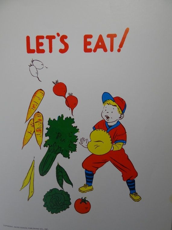 Vintage  School Poster