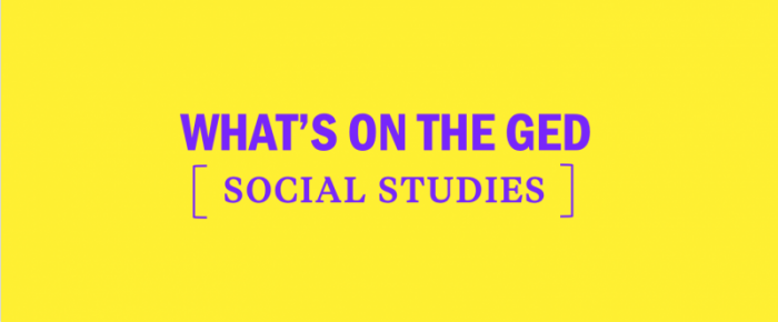 Whats On The Ged Social Studies
