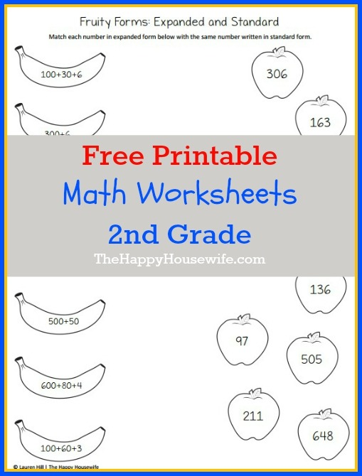 Worksheet Second Grade Math Free Firsteets Games Nd Reading