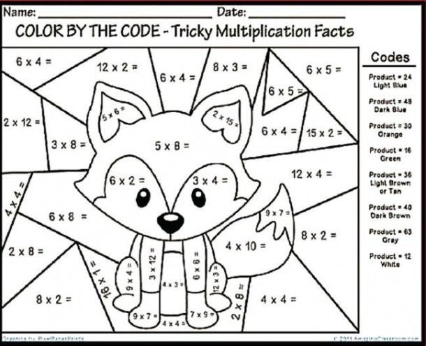 Worksheets Veganarto Printable Third Grade Math Fun Reading For