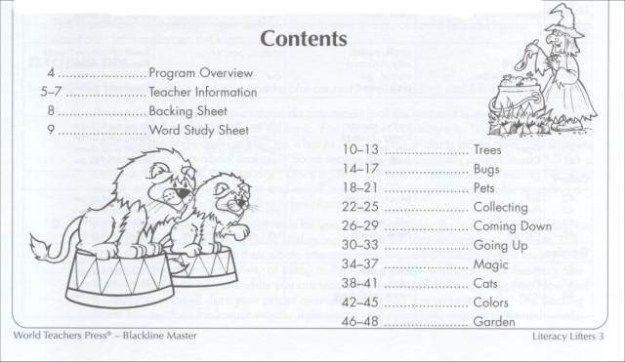 World Teachers Press Worksheets