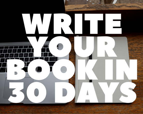 Write Your Book In  Days